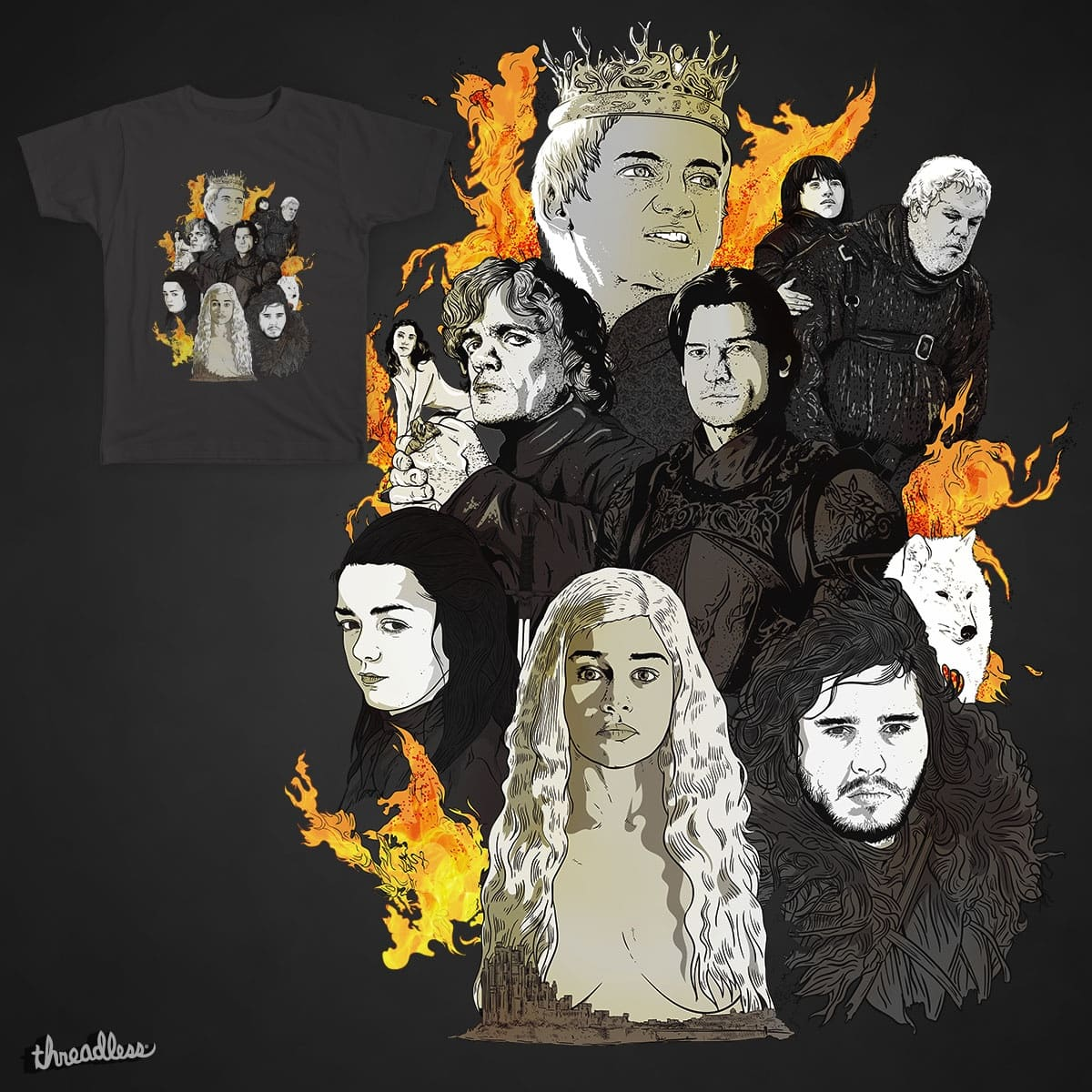 Game of Thrones by rohan.jha.792 on Threadless