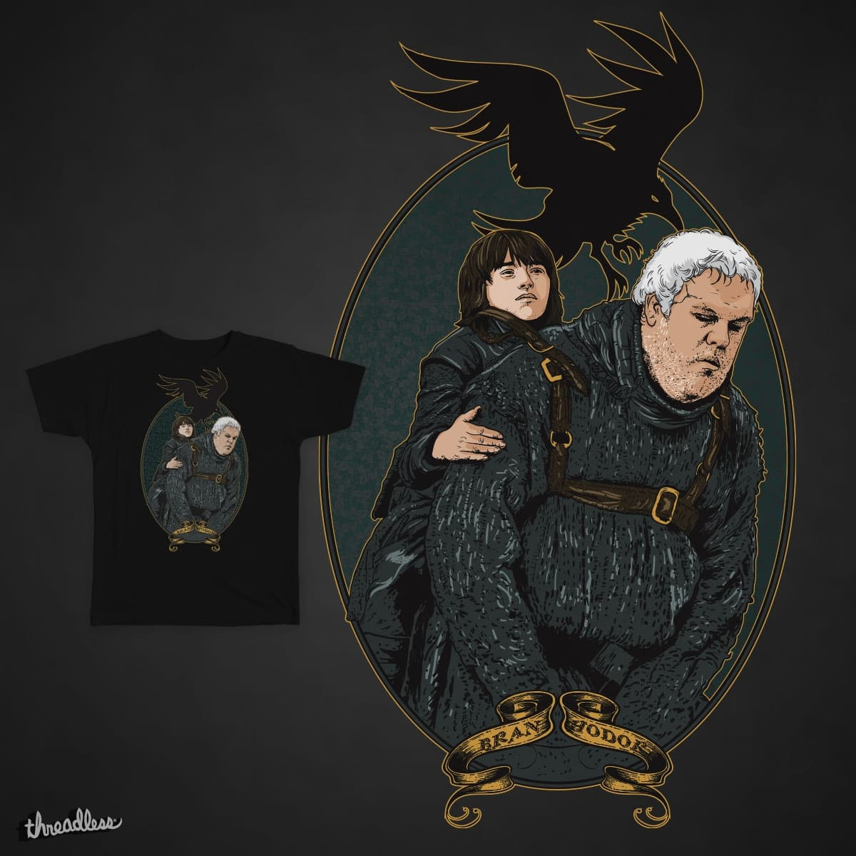 Hodor Faster Stronger by rohan.jha.792 on Threadless