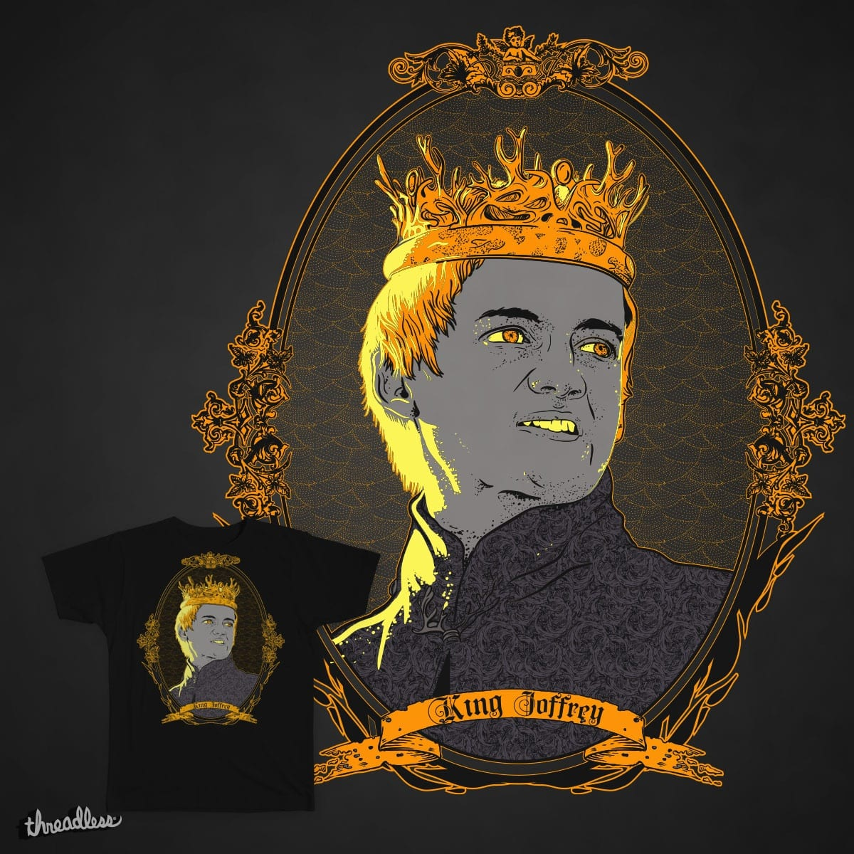 King Nothing by rohan.jha.792 on Threadless