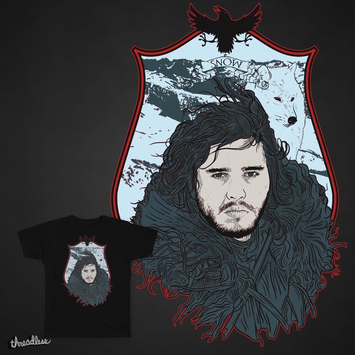 Snow Warrior by rohan.jha.792 on Threadless
