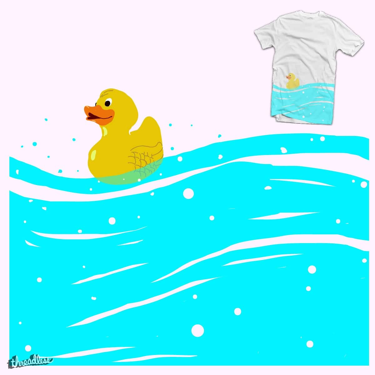 Duck by BacteriArt on Threadless