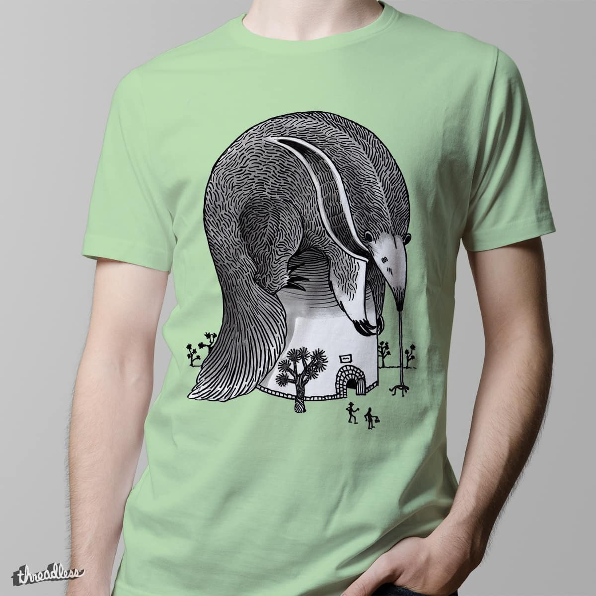 Attack of the Giant Anteater by annegwish33 on Threadless