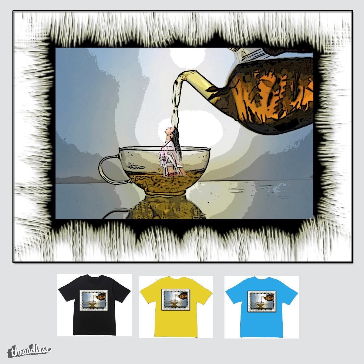 Tea bath by monica38 on Threadless