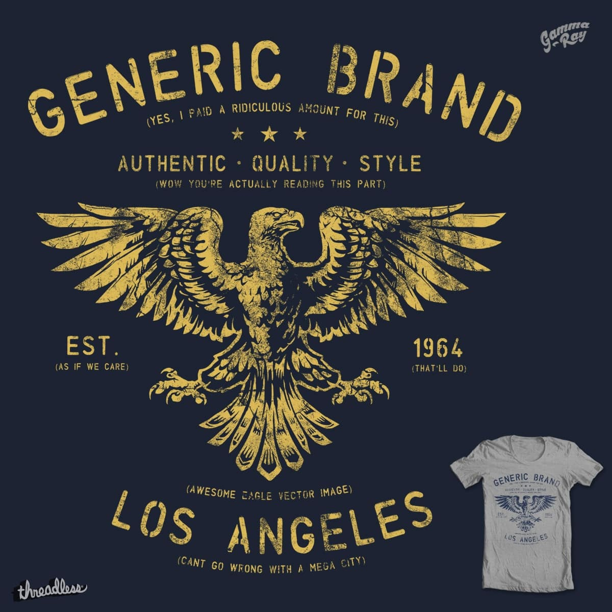 Brand Rip-off! by Gamma-Ray on Threadless