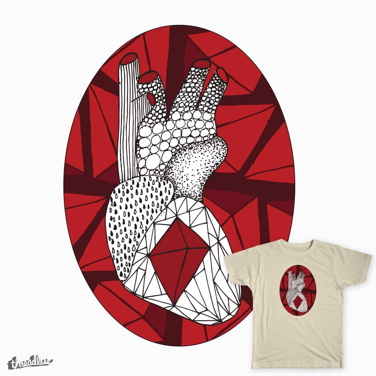 Heart Gem by graphicenzo on Threadless
