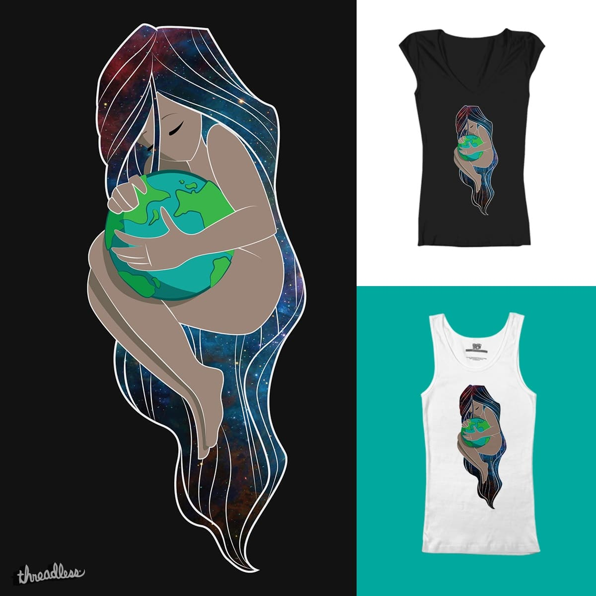 Mother Earth by mckalice on Threadless