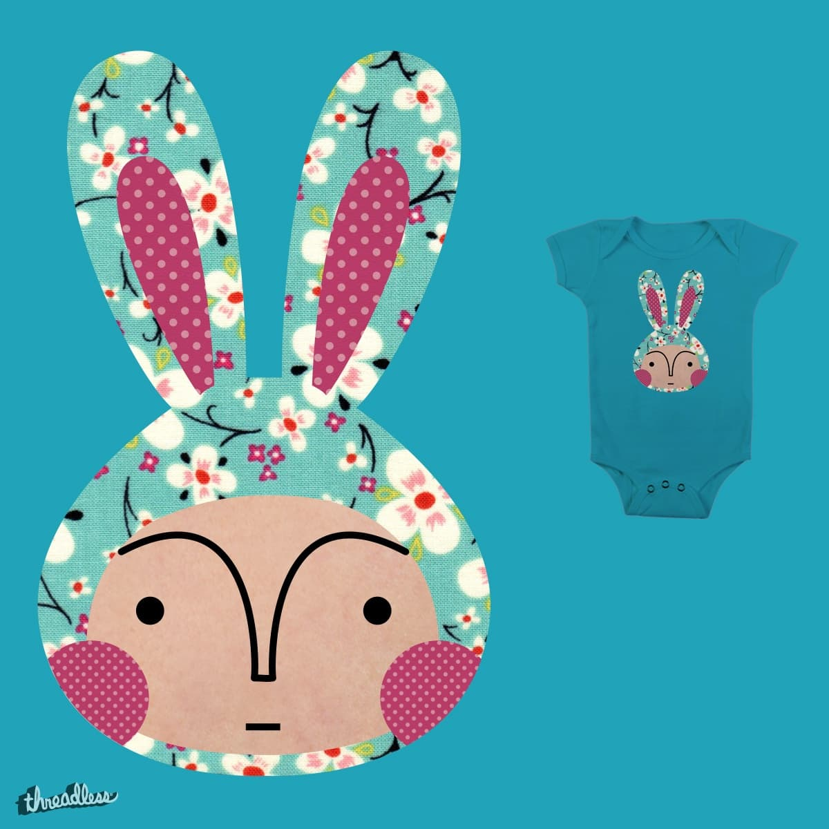 bunny full by littleNlarger on Threadless