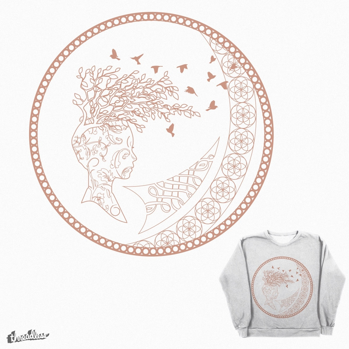 VINTAGE PINK by demibuunk on Threadless