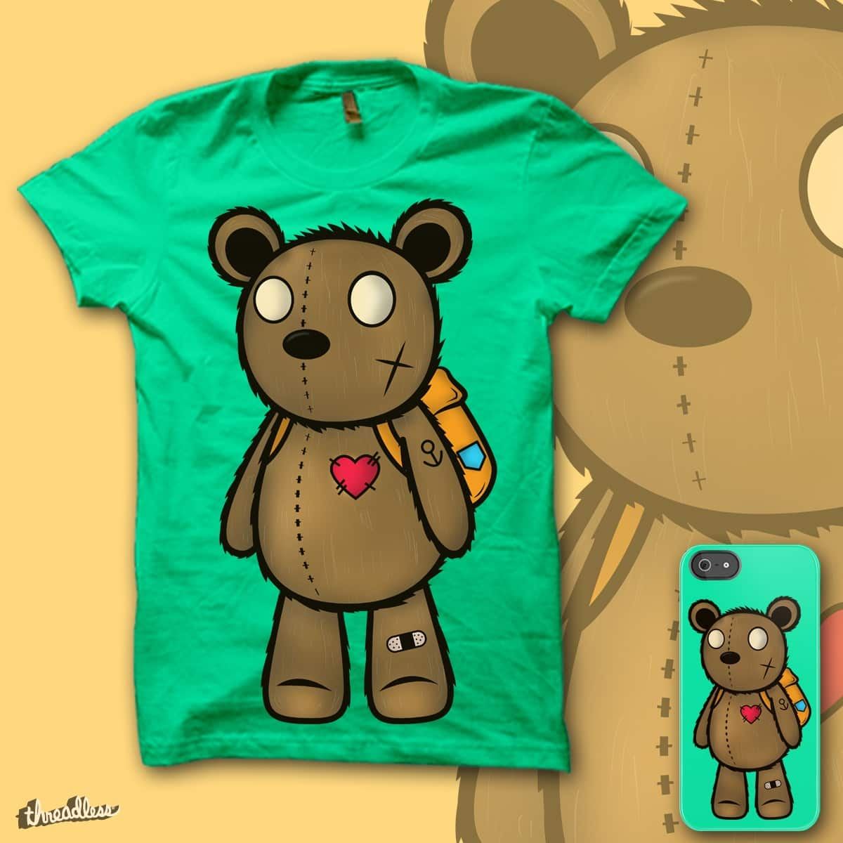 Teddy's Travel by Jeracodil on Threadless