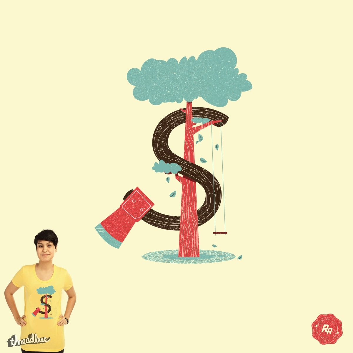 Money and Trees by Ryder on Threadless