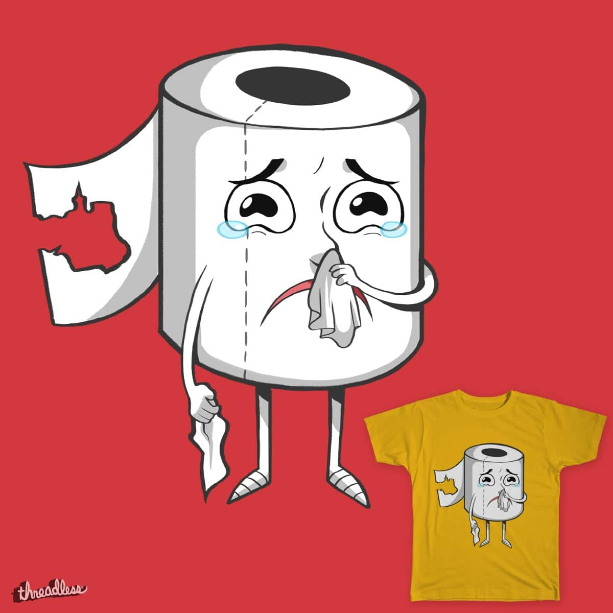 SELF-HELP  by arehime on Threadless