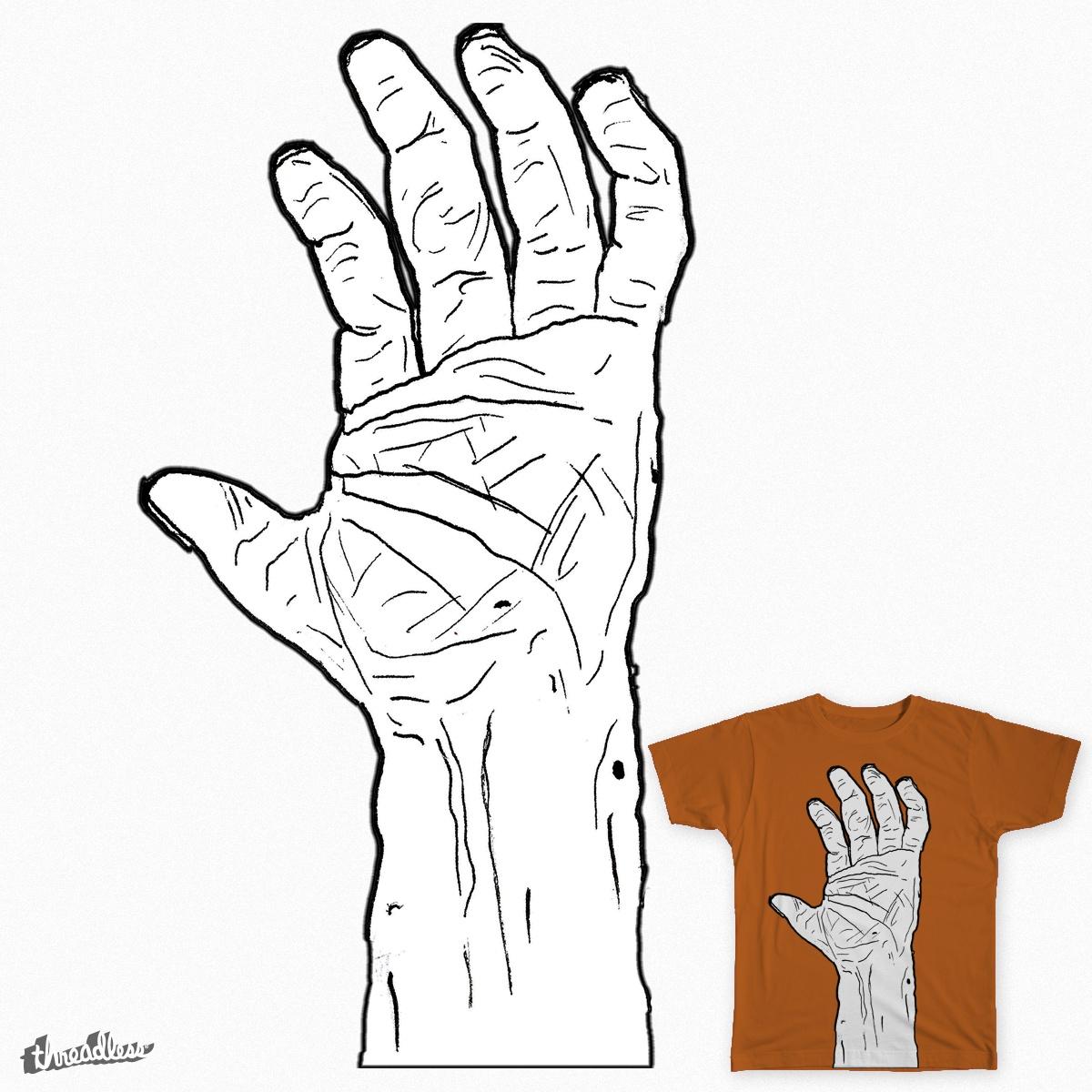 Hand Up by davidgeva on Threadless
