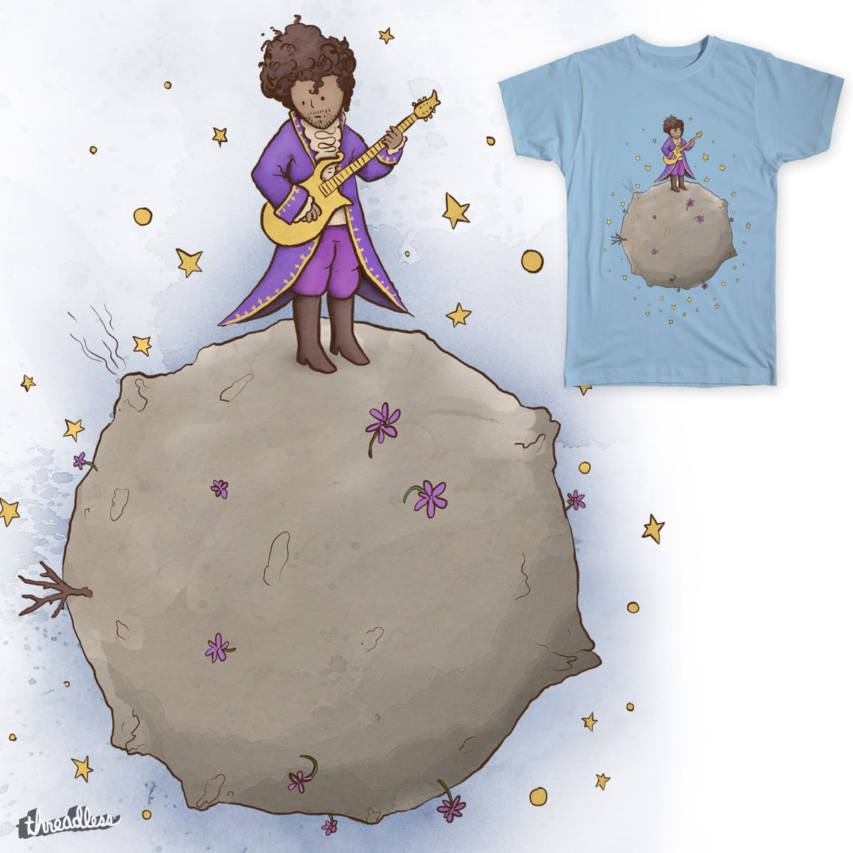 Le Petit Artiste by David Maclennan on Threadless