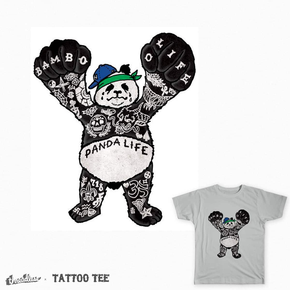 Panda Life by lumpeter on Threadless