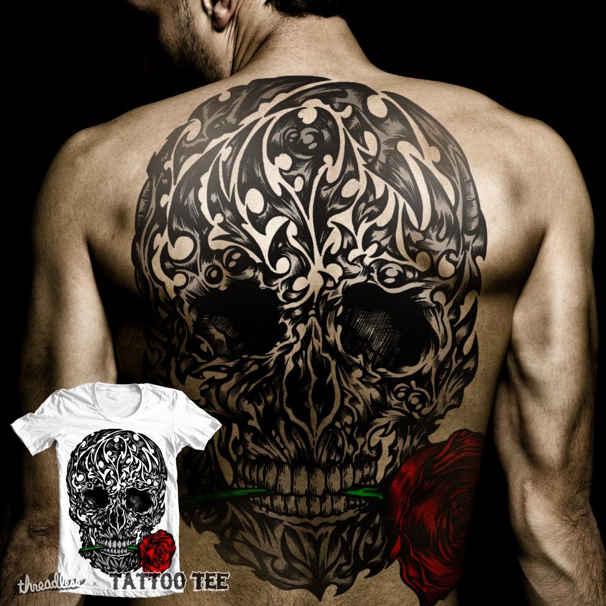 Biomech Skull by Joe Conde on Threadless