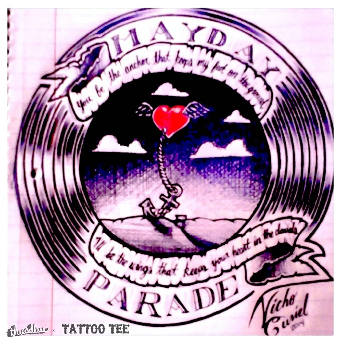 Score Mayday Parade Tattoo Idea By Nicho14 On Threadless