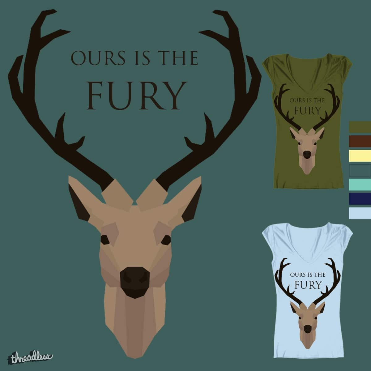 Ours is the Fury by Ashleyaileen on Threadless