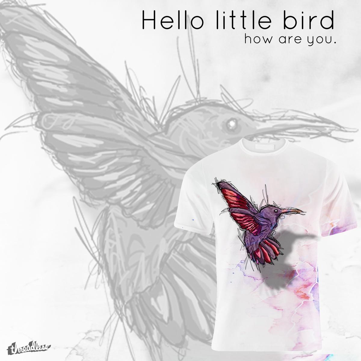 Hello Little Bird by Mattymono on Threadless
