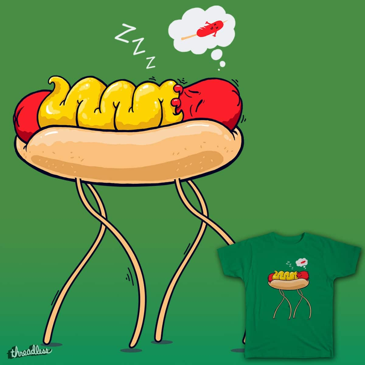 Bad Dream by gwynmichael on Threadless