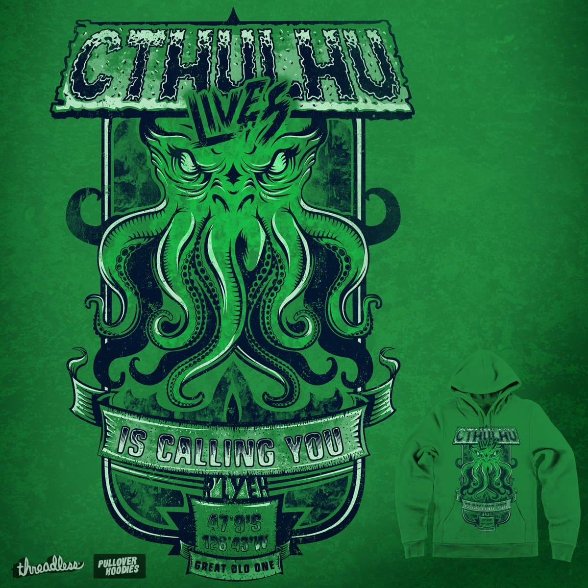 Cthulhu Lives by Melee_Ninja on Threadless