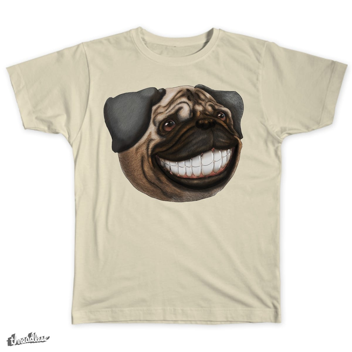 Laughing Dog by AK27JESSE on Threadless