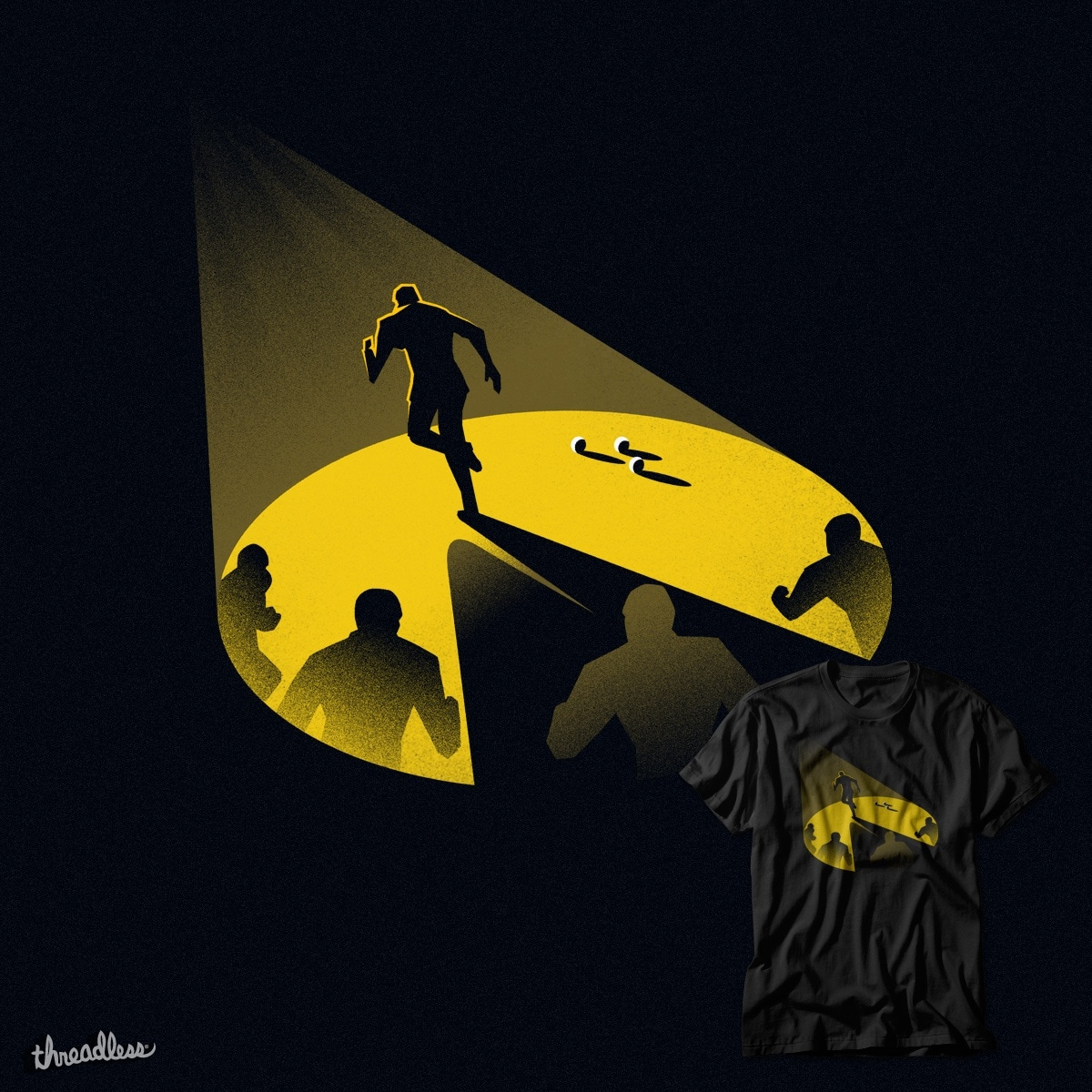 An Endless Chase by iwilding on Threadless
