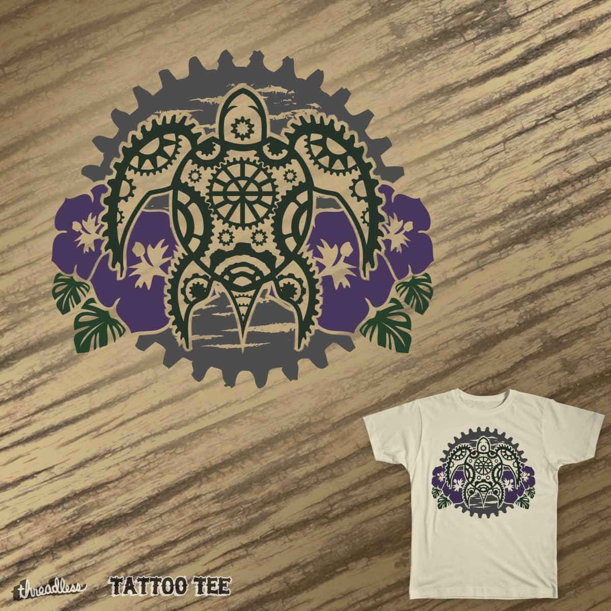 Clockwork Pacific by Nosegrob00 on Threadless