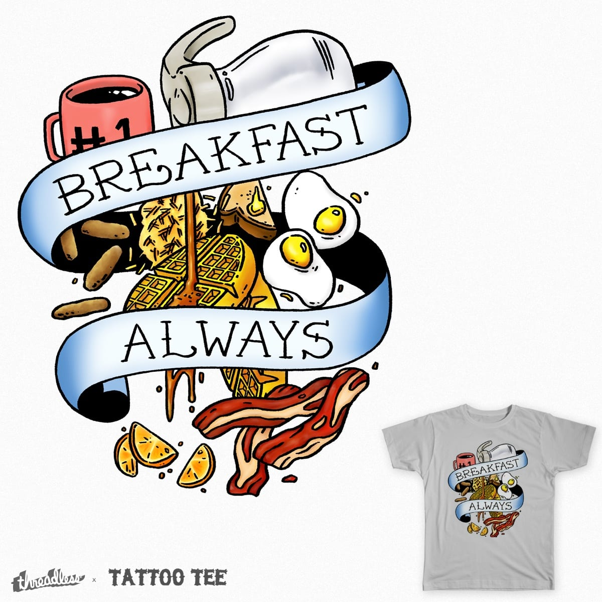 Eat Hardy by mike bautista and Orbanya on Threadless