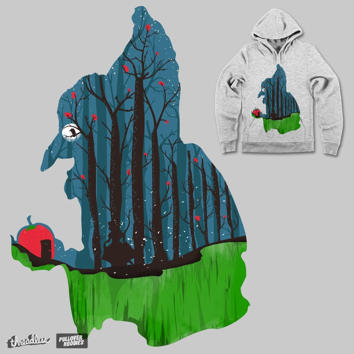 Lost in Woods by DalemyMan on Threadless