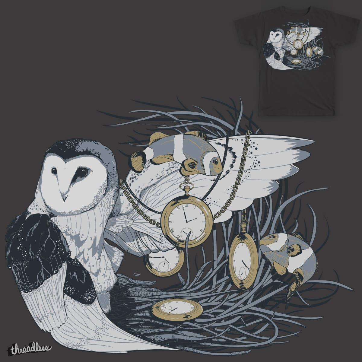 Hootie and the Clownfish by P4U53 on Threadless