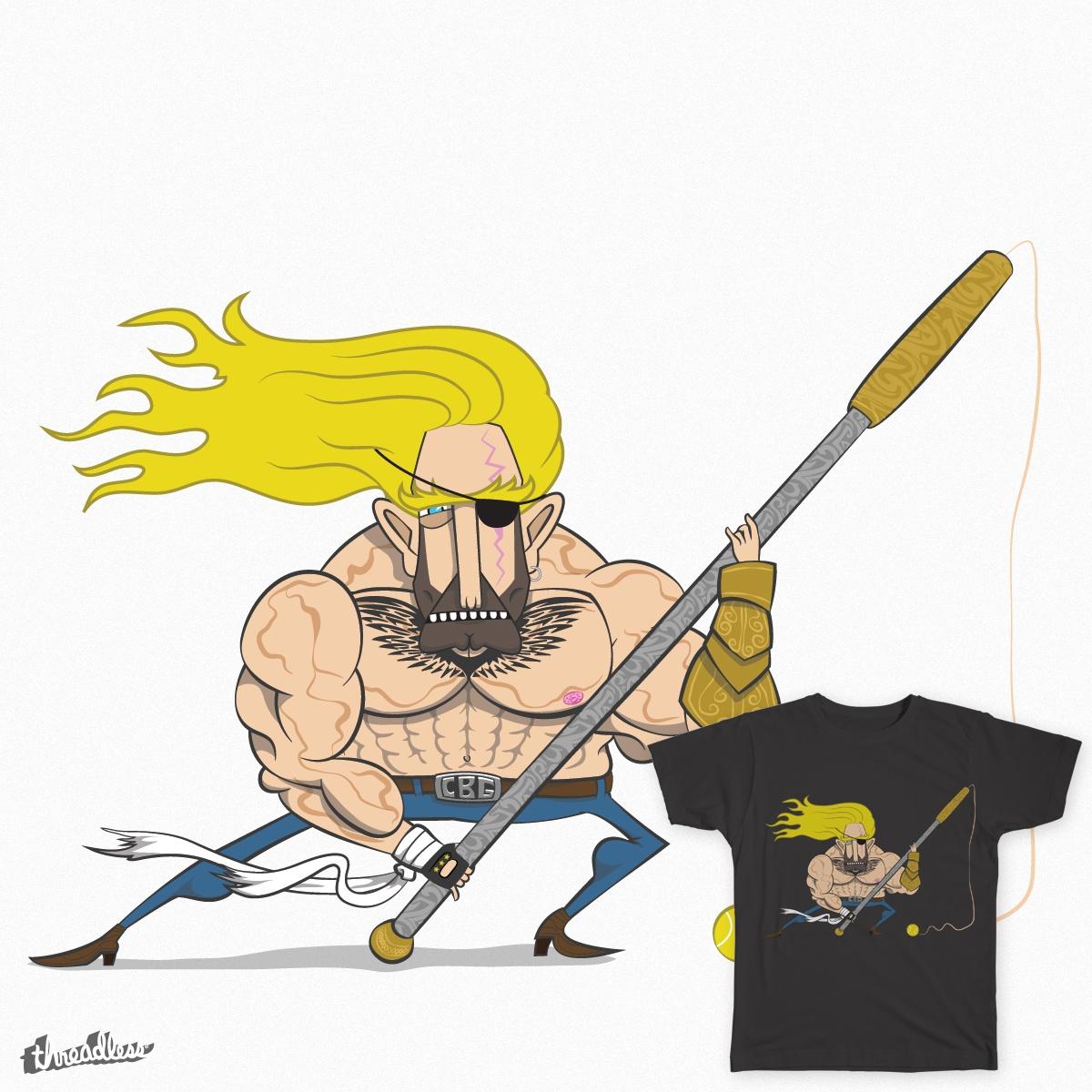 Cliché Bad Guy by nickreyniers on Threadless