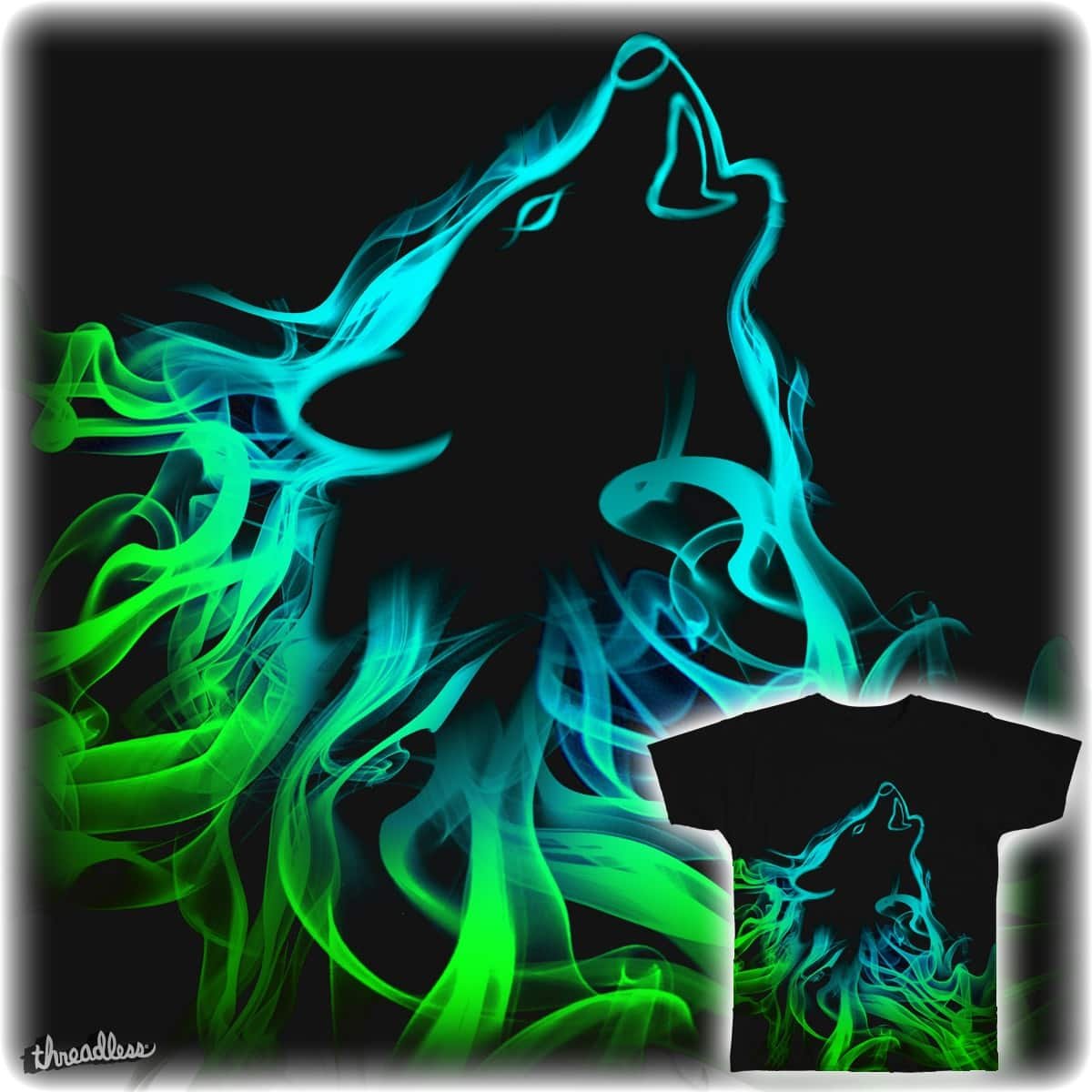 Smokey Wolf by Ayman_G on Threadless