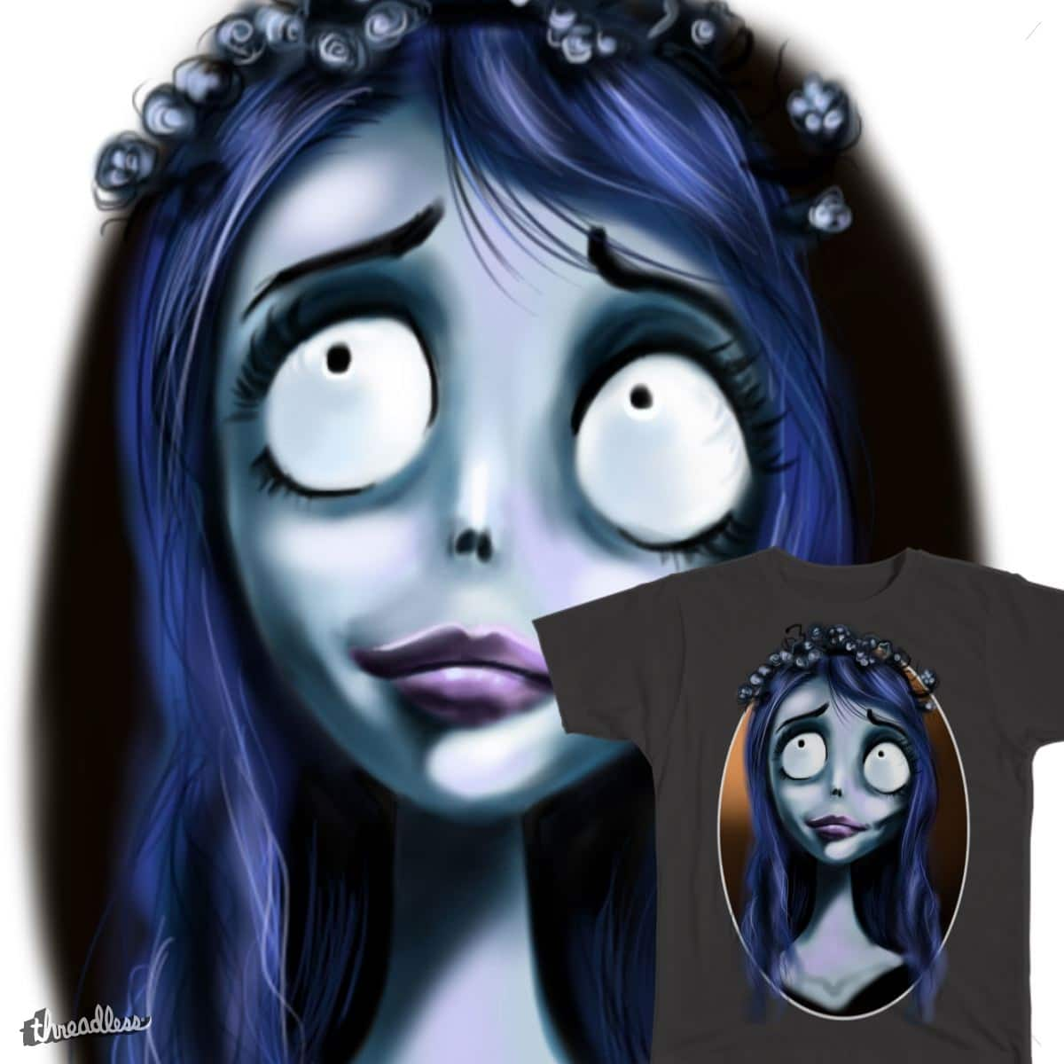 Emily the Corpse by LillianRu on Threadless