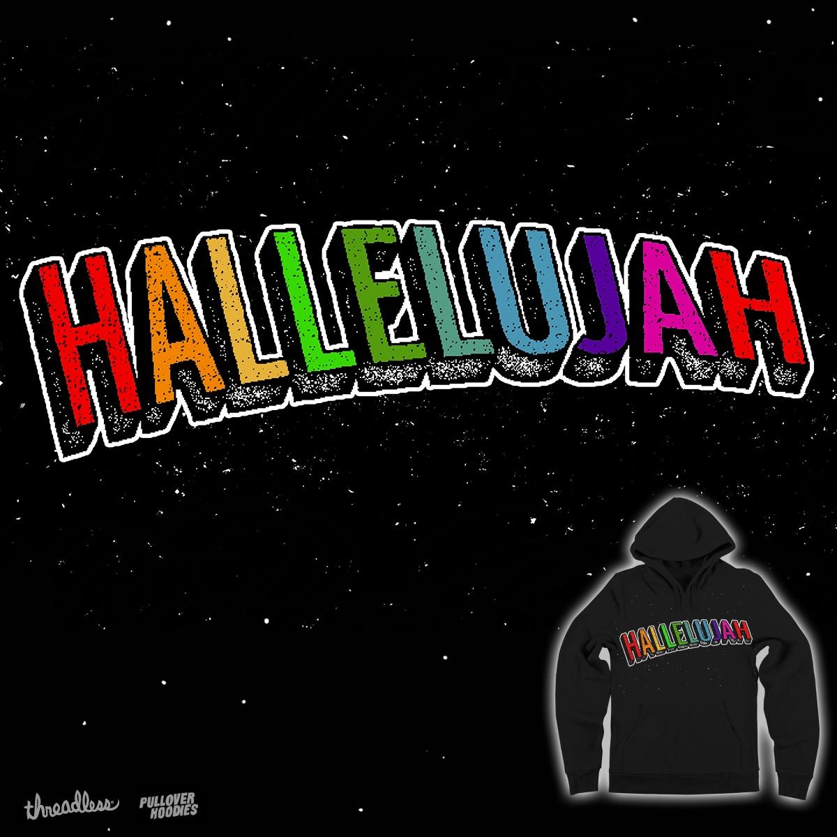 Hallelujah! by vintagesmile on Threadless