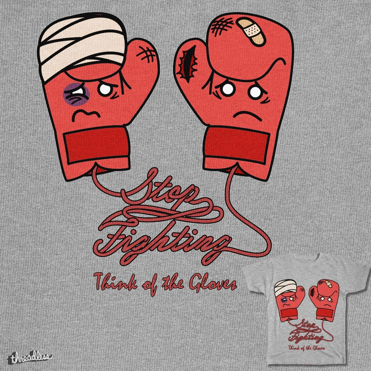 Think of the Gloves by BrainMatter on Threadless