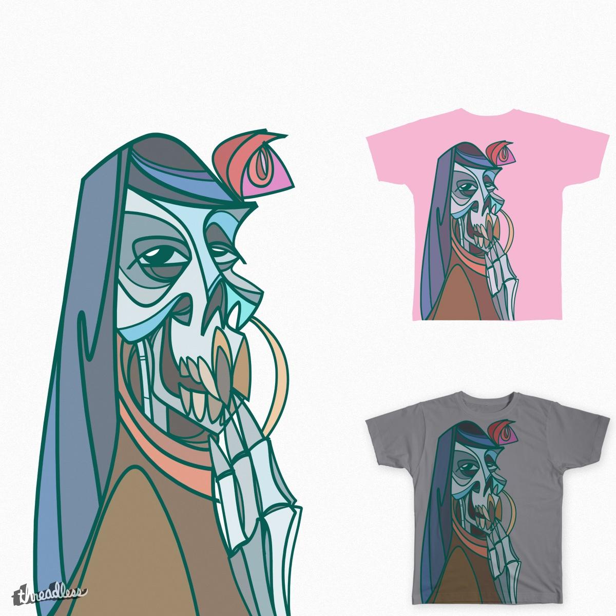 La LLorona skeleto by fingas.porvida on Threadless