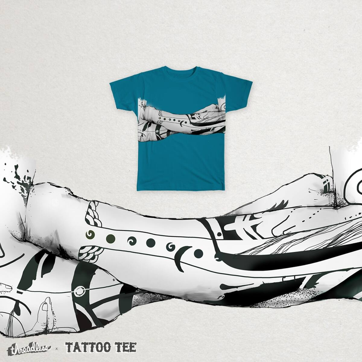 Ink and skin by sankrit_k on Threadless