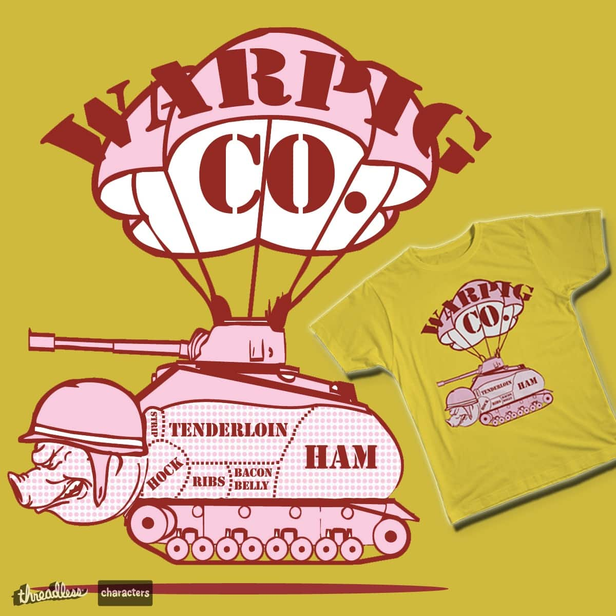 WARPIG Co. by FreWil_Design on Threadless