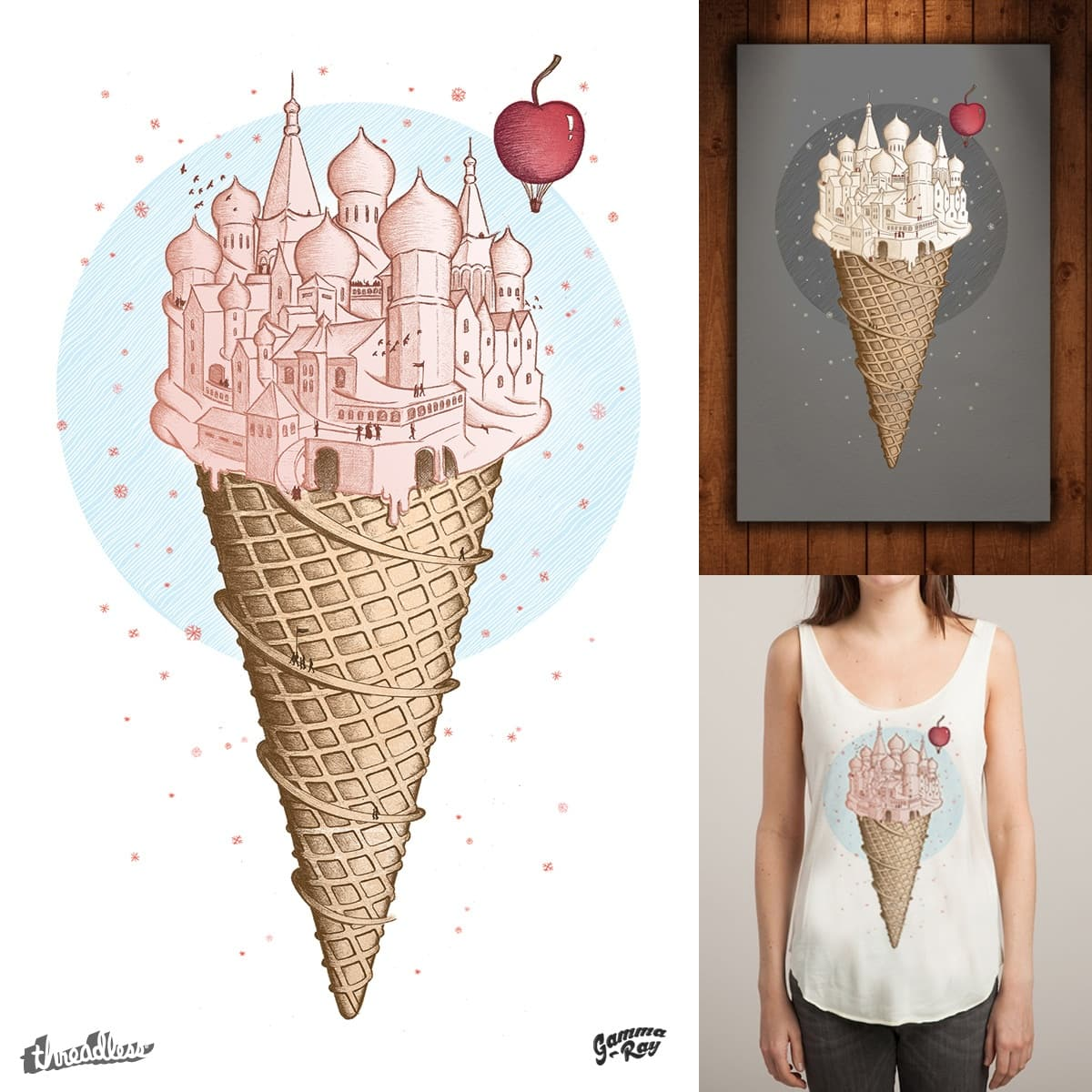 Coney Island by Gamma-Ray on Threadless