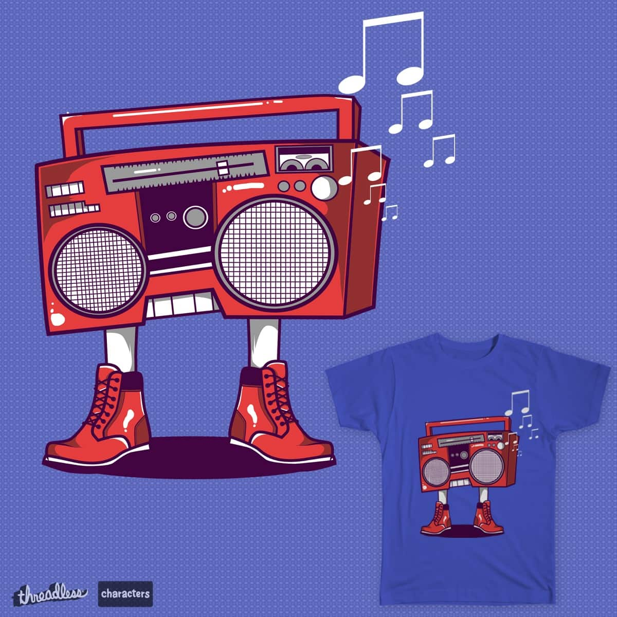 BoomBoot by benedictlarazo on Threadless