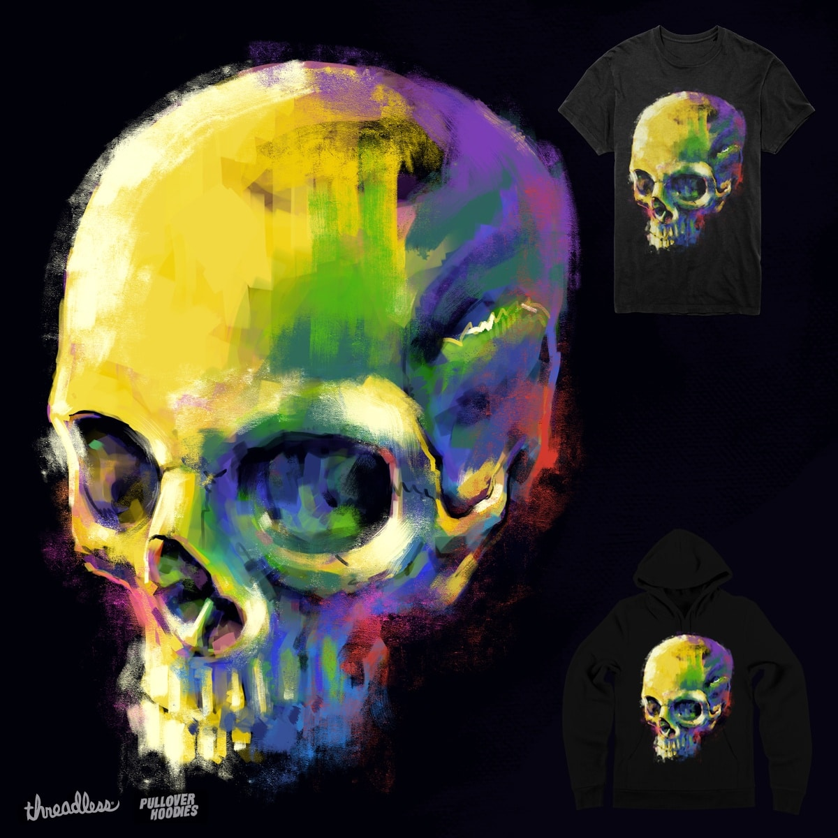 Calavera by digitalcarbine on Threadless