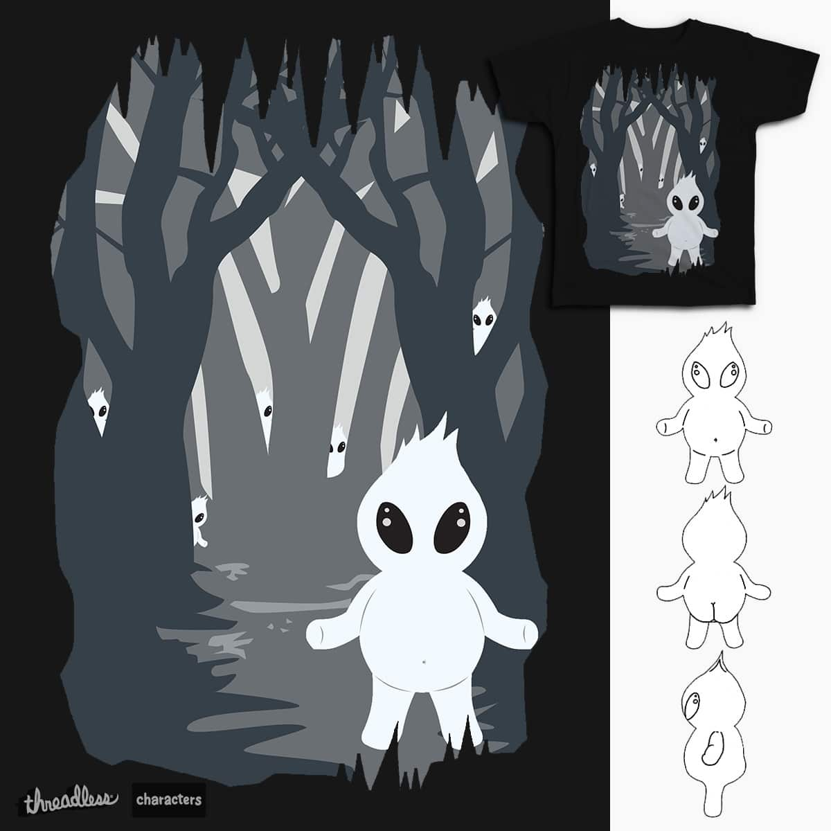 Ignis Fatuus (Fuego fatuo) by Beatrizxe on Threadless