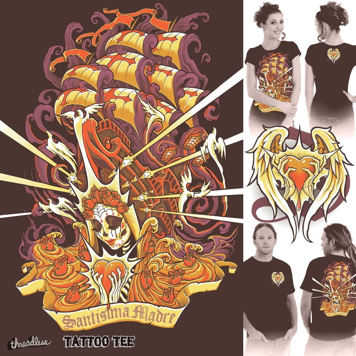 Santisima Madre by Jehsee on Threadless