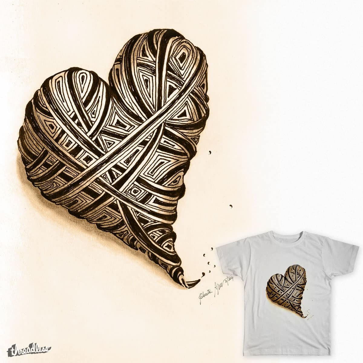 The day after by robertapizzorno on Threadless