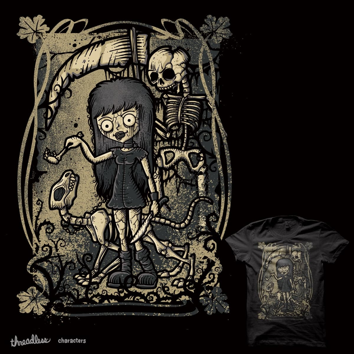 In The Darkness by Letter_Q on Threadless