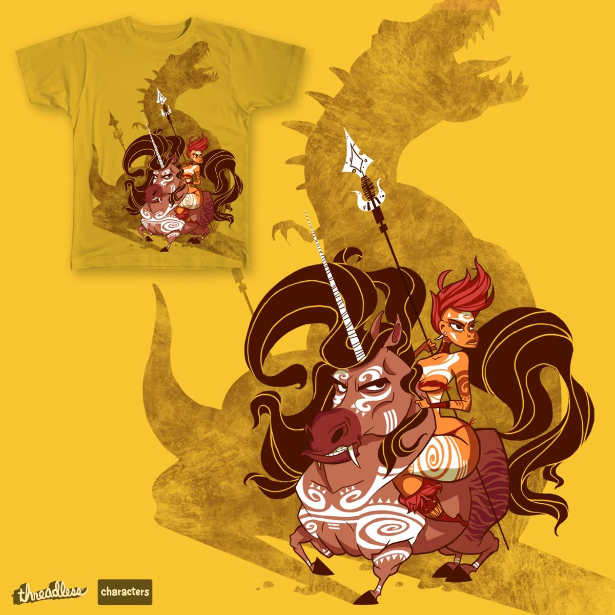 My Little Saber-tooth Ponycorn by Timothah on Threadless