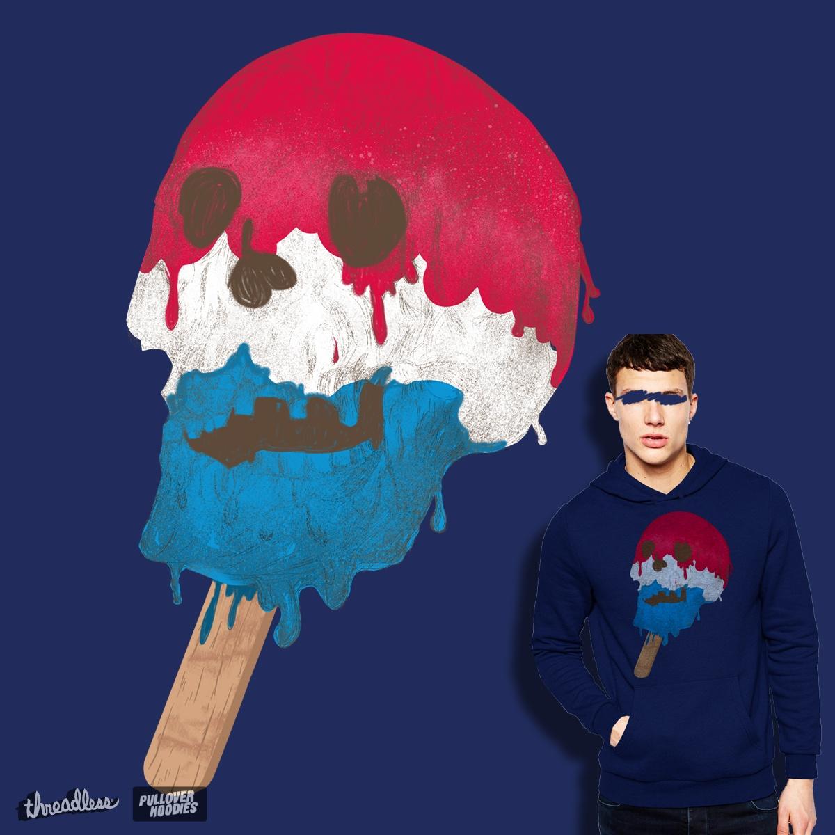 Skullsicle by DalemyMan on Threadless