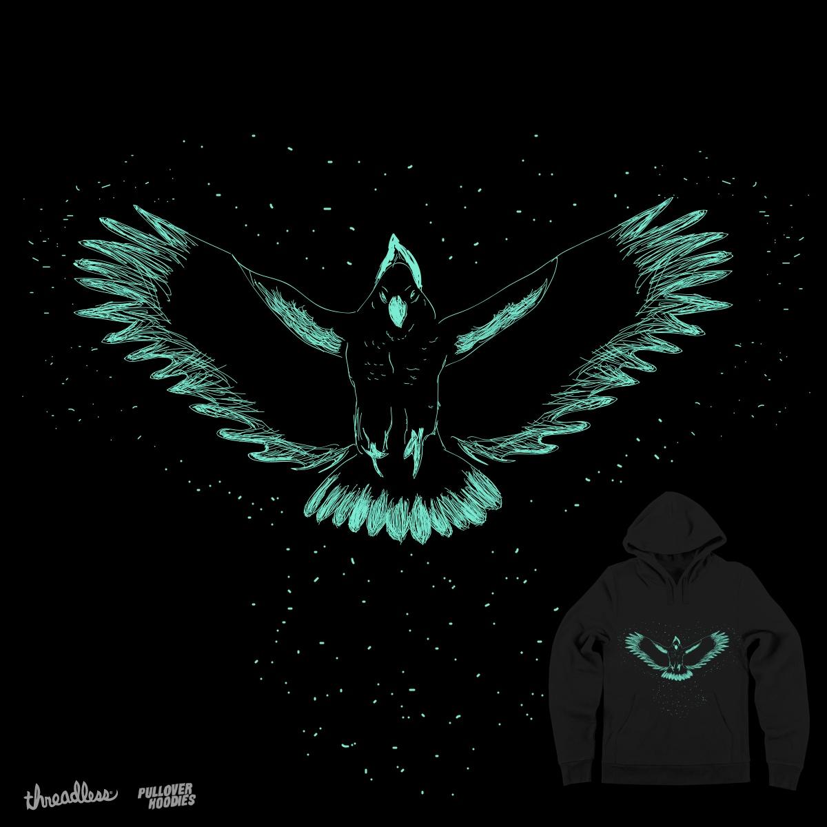 Ghost Cockatoo by CaitlinMcG4 on Threadless