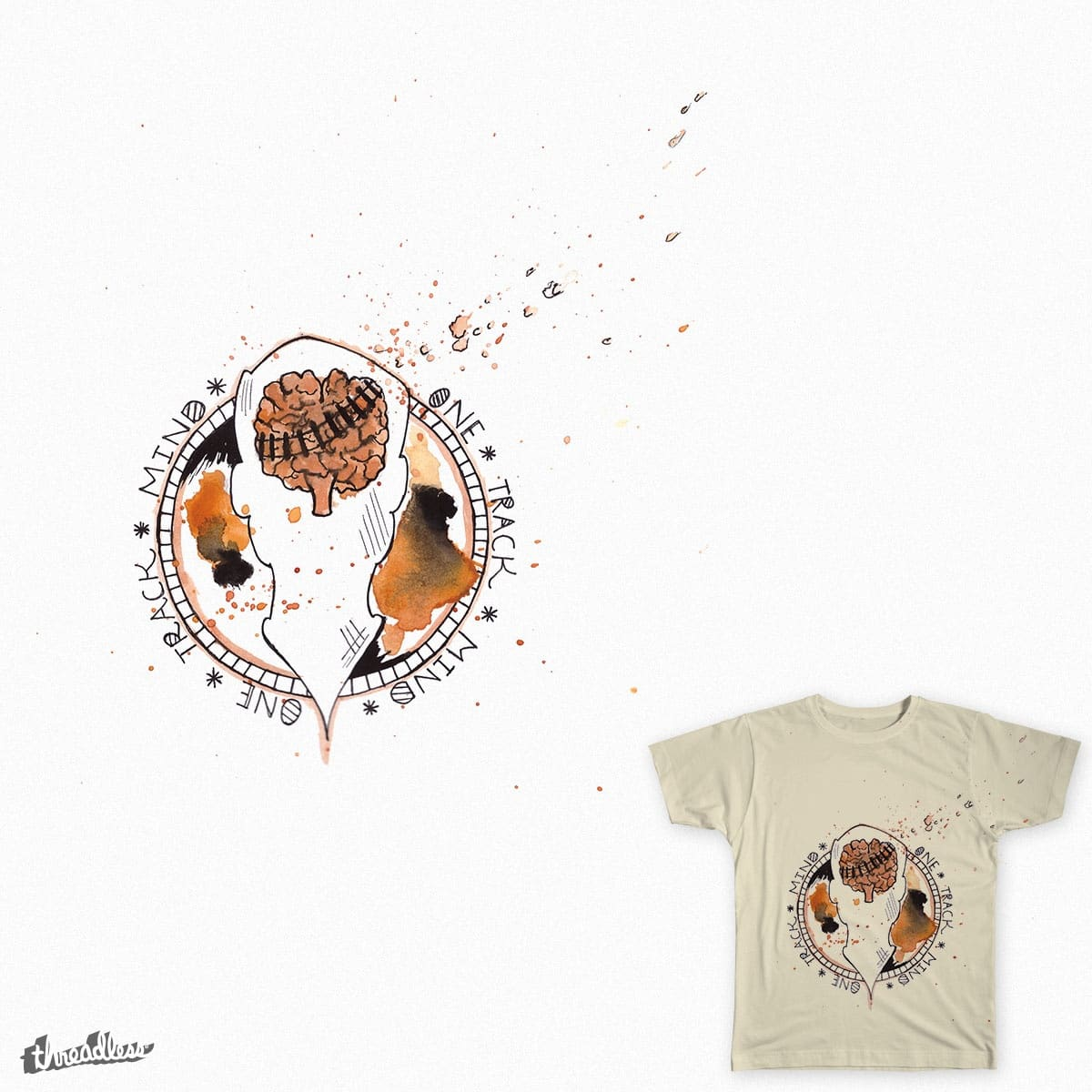 One Track Mind  by Miss_Kess97 on Threadless