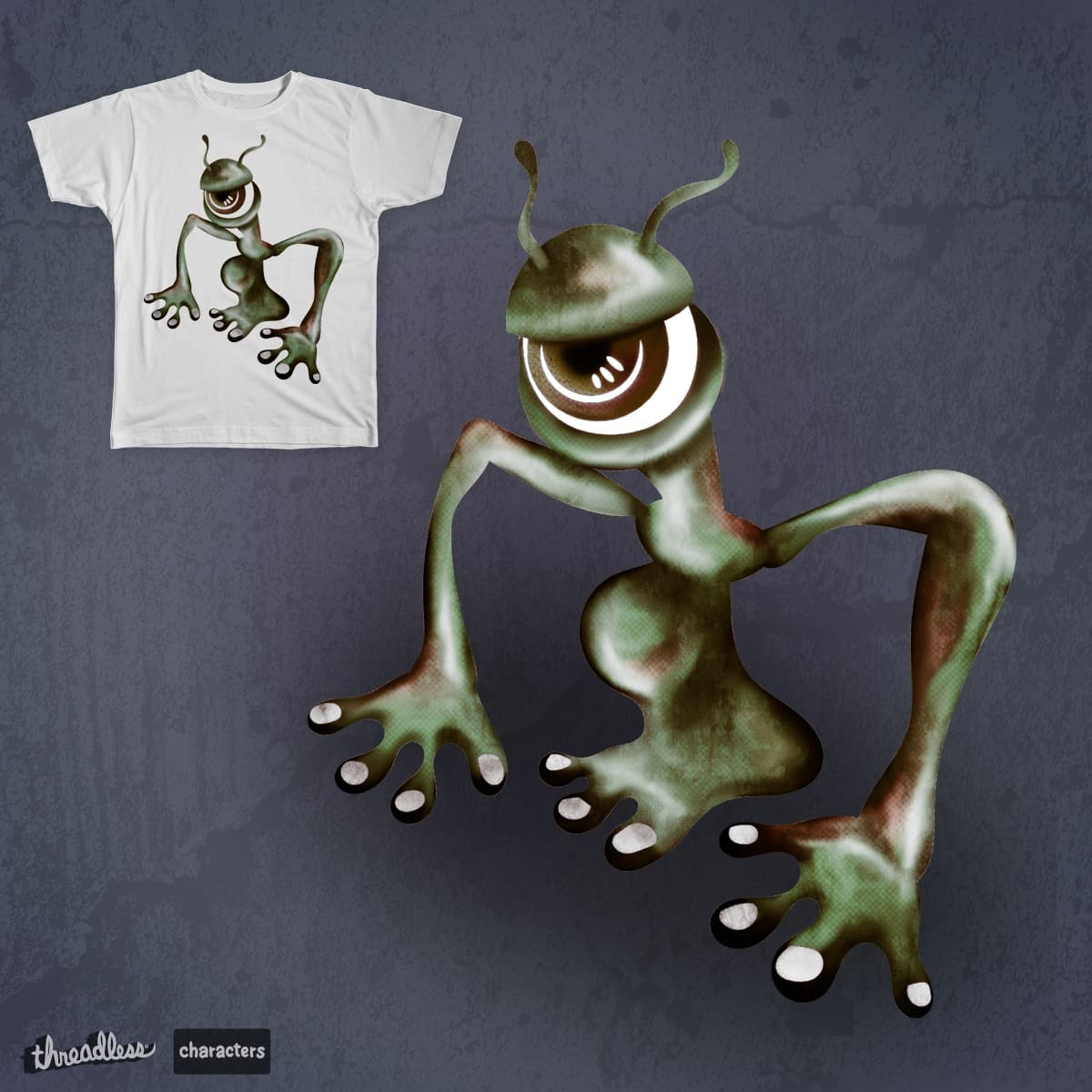One Eye by st3v3 on Threadless